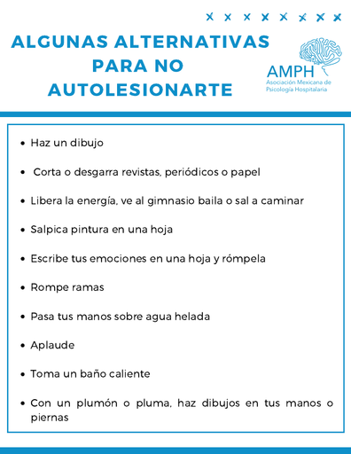 Alternativas Autolesión