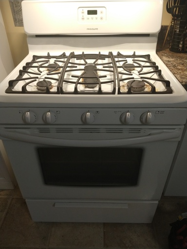 Frigidaire Gas Oven Stove Repair Fgf348ksk Located In
