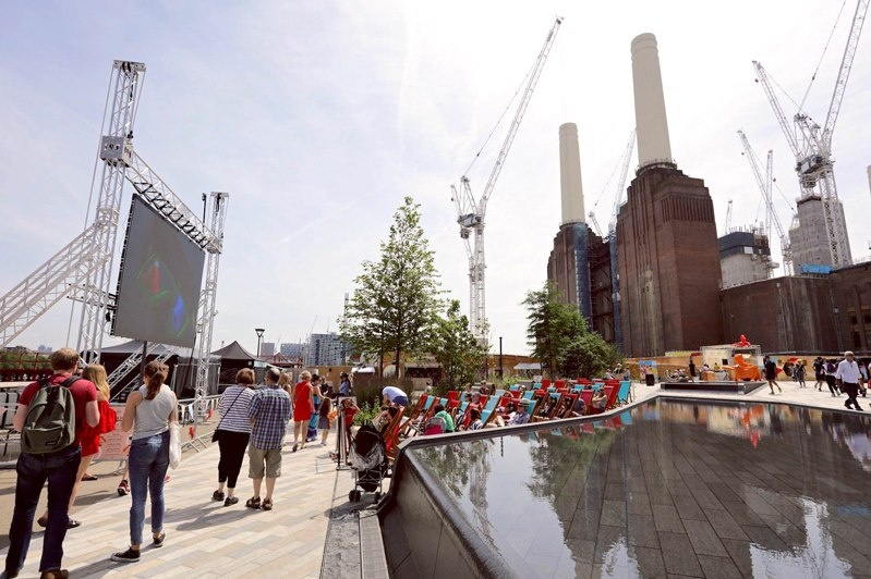 Just launched: Experiential events in Battersea Power Station