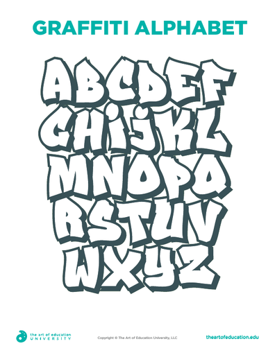 Graffiti Alphabet - FLEX Resource
