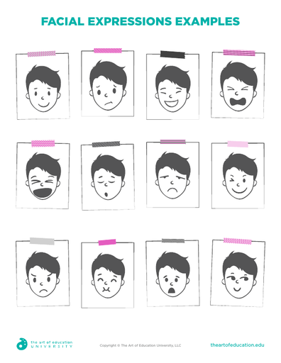 Facial Expressions Examples - FLEX Resource