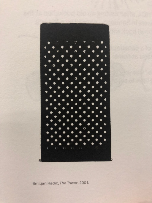 Sketch for The Tower – a cheese grater.