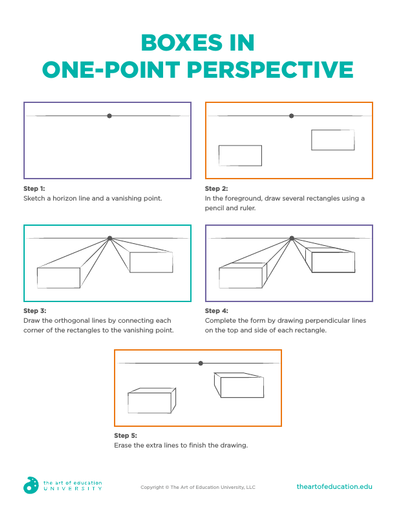 Boxes in One-Point Perspective - FLEX Resource