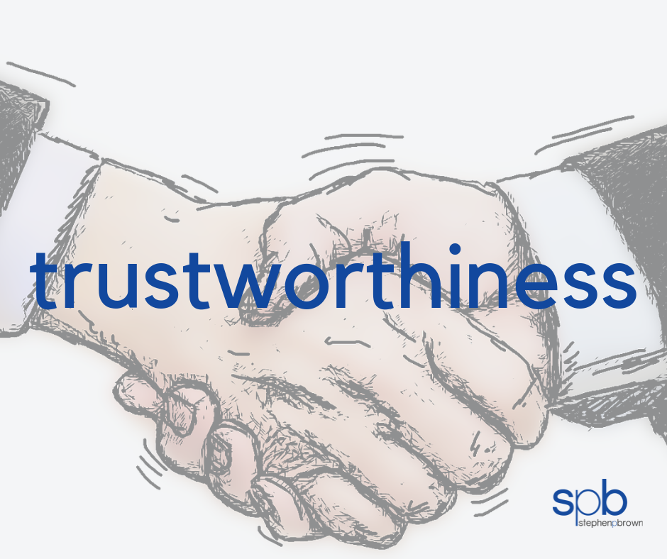 Trustworthiness - A Characteristic of Attractiveness