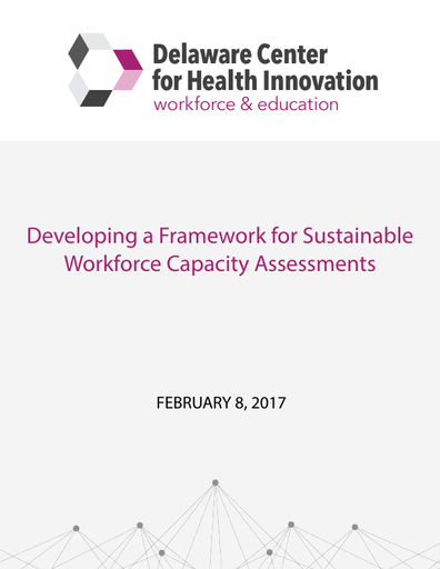 Developing a Framework for Sustainable Workforce Capacity Assessments