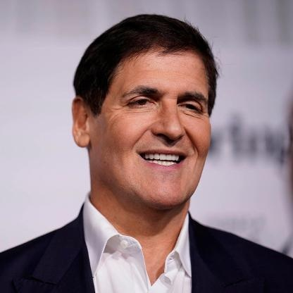 a photo of crypto expert reviewer Mark Cuban