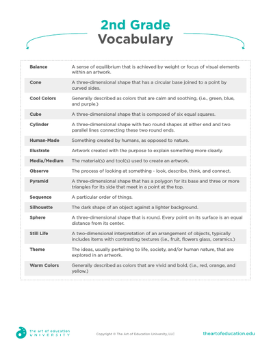 2nd Grade Vocabulary - FLEX Assessment