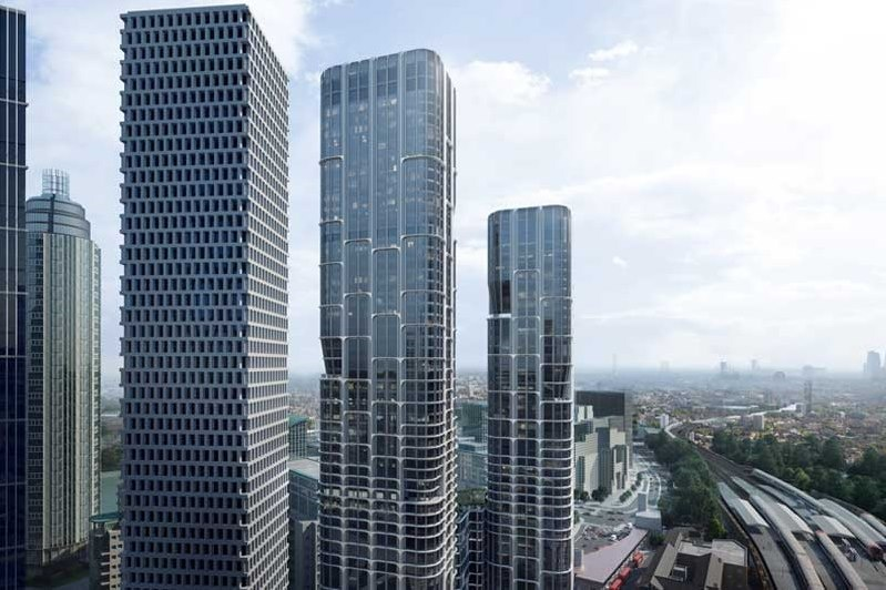 Zaha Hadid Architects' skyscrapers to contribute to the regeneration of Vauxhall