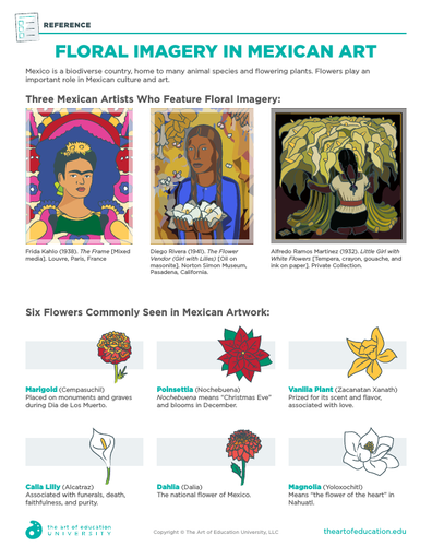 Floral Imagery in Mexican Art - FLEX Resource