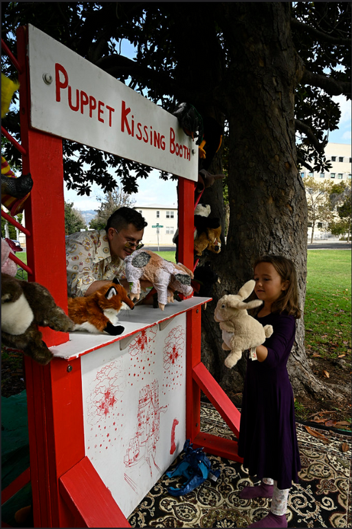 The Puppet Kissing Booth