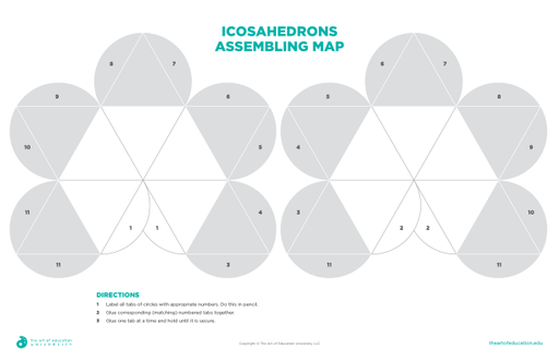Icosahedrons Assembling Map - FLEX Assessment