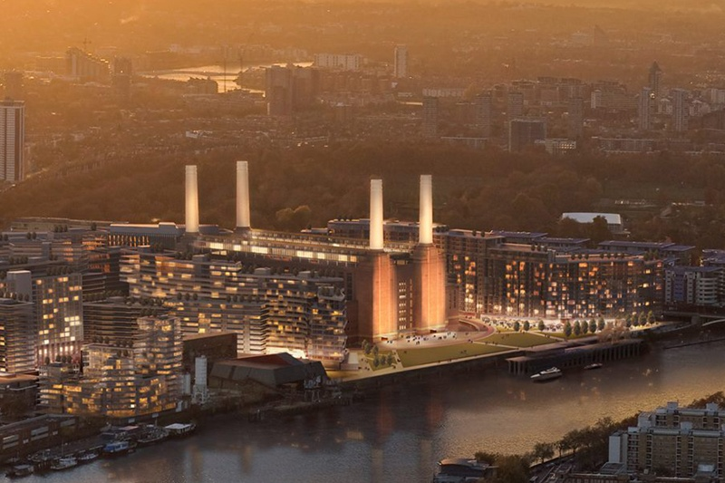 Battersea Power Station getting ready to fire up