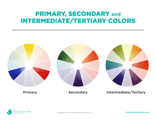 Primary Secondary Tertiary Colors - FLEX Assessment