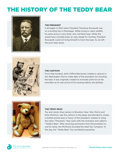 The History of the Teddy Bear - FLEX Assessment