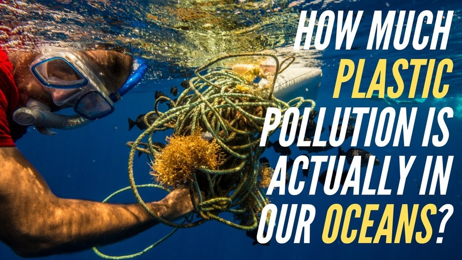 How much plastic pollution is ACTUALLY in our oceans?