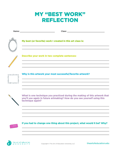 "My ""Best Work"" Reflection - FLEX Assessment"