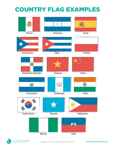 Country Flag Examples - FLEX Assessment