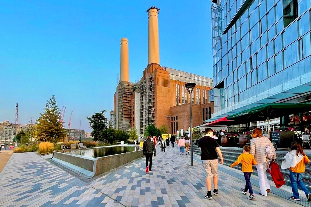 Fuel shortage in Battersea? Just walk to the brand new Battersea Power Station tube.
