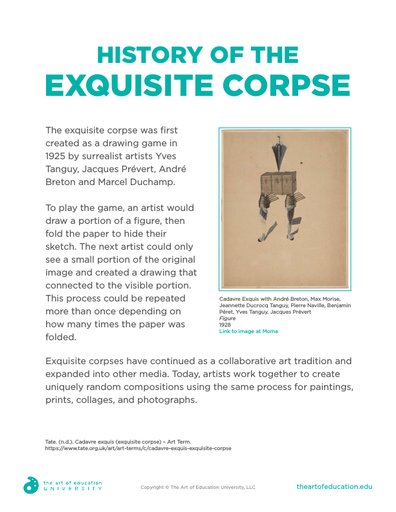 History of the Exquisite Corpse - FLEX Assessment