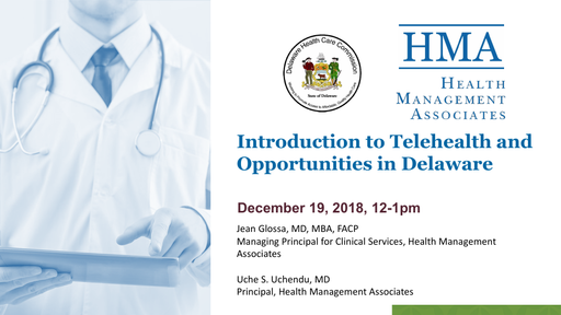 Introduction to Telehealth and Opportunities in Delaware
