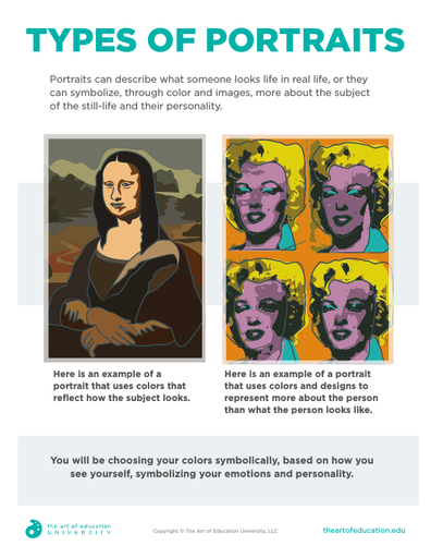 Types Of Portraits - FLEX Resource