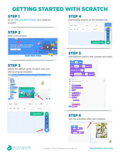 Getting Started with Scratch - FLEX Resource