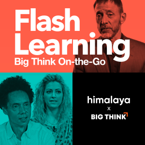 Flash Learning: Big Think on the Go