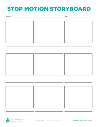 Stop Motion Storyboard - FLEX Resource