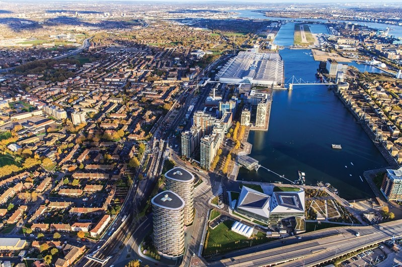 The Royal Docks set to attract more than £5bn in inward investment