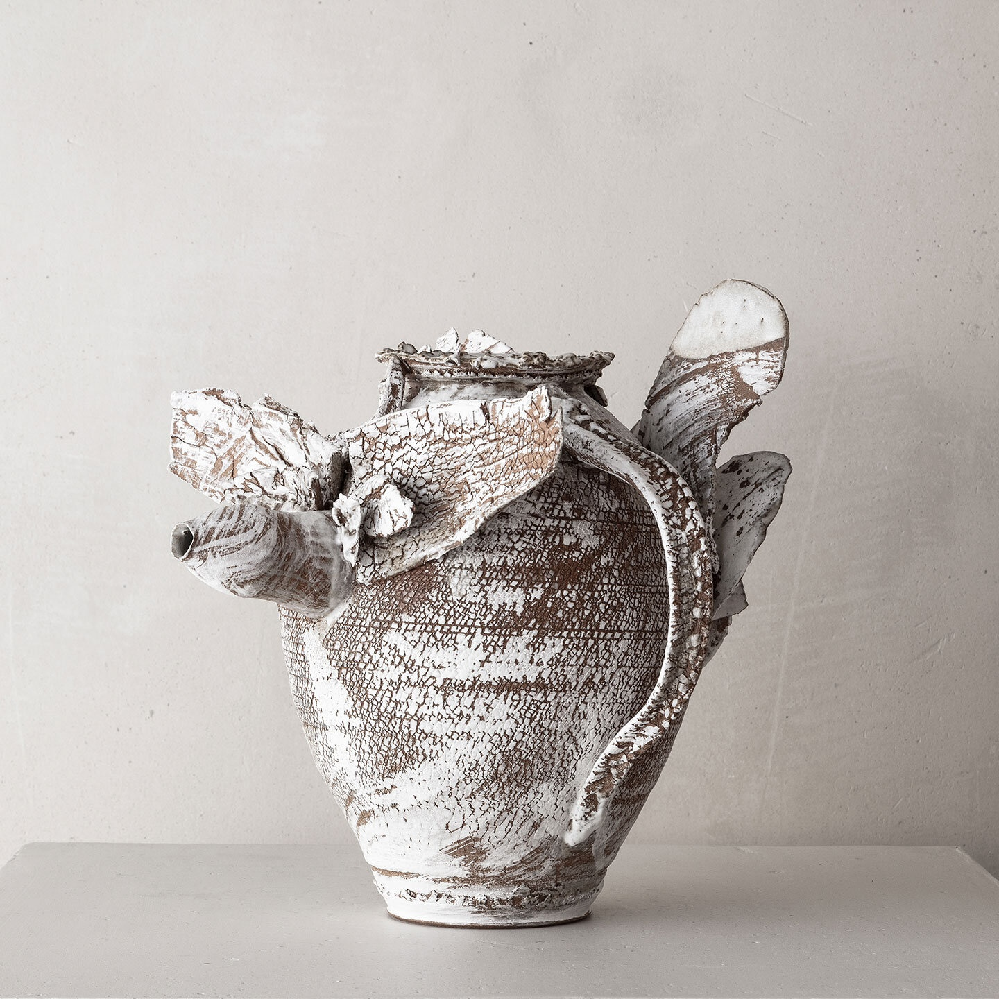 CHTHONIC VESSEL 23Peter Speliopoulos, Peter Speliopoulos Ceramics, Peter Speliopoulos Artist, Peter Speliopoulos Fashion Designer, Contemporary Ceramics, Contemporary Greek Ceramics, Interior Design Accessories.