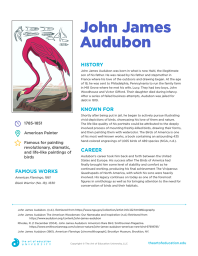 John James Audubon - FLEX Resource