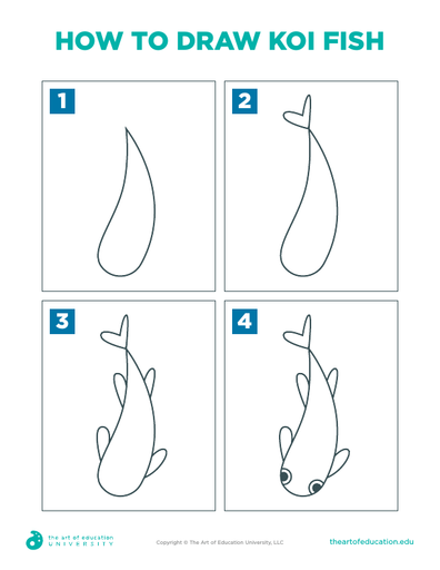 How to Draw Koi Fish - FLEX Assessment