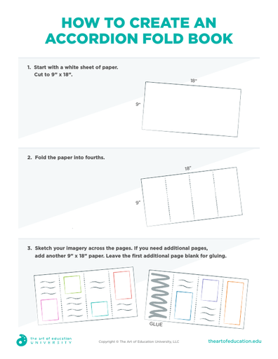 How To Create an Accordion Fold Book - FLEX Assessment