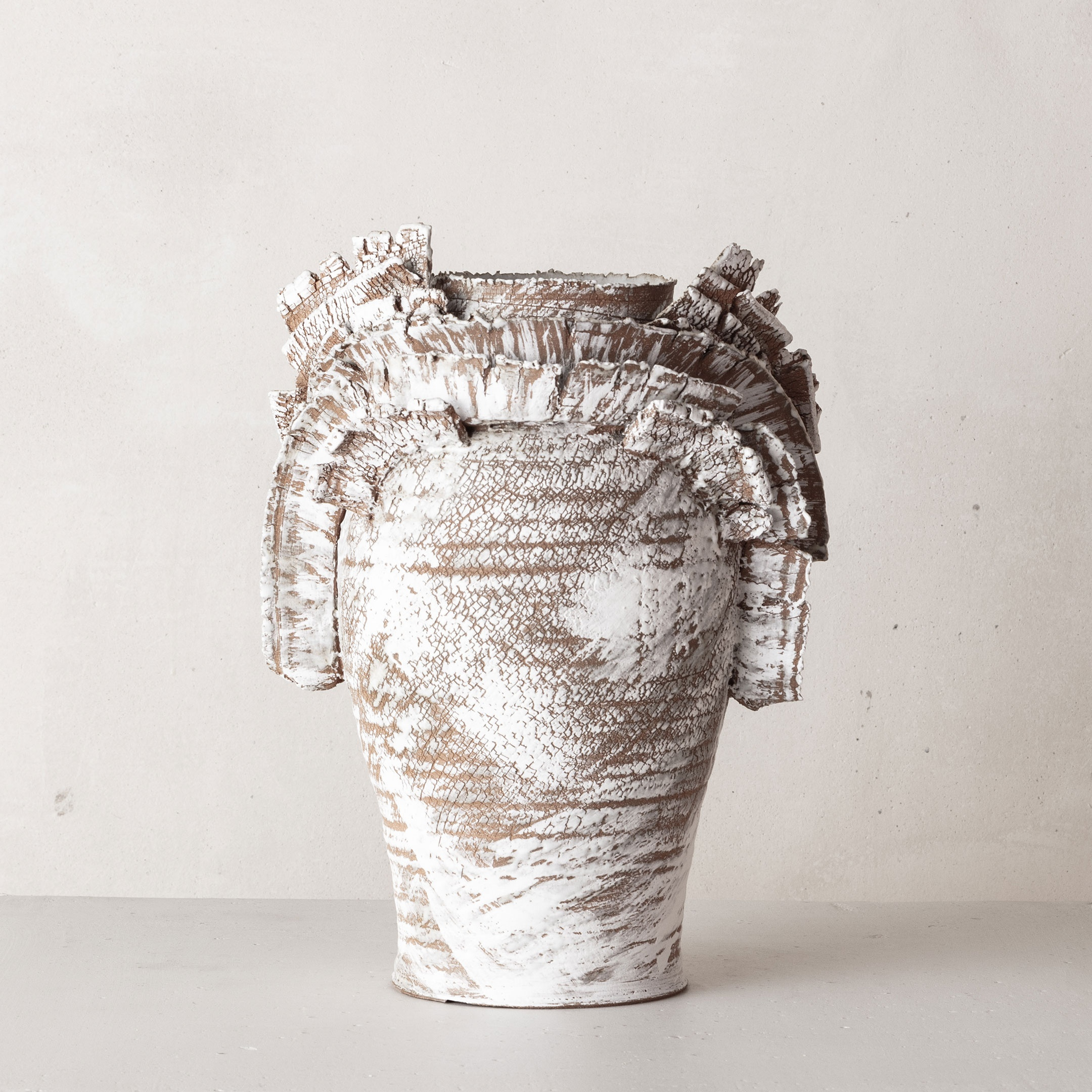 CHTHONIC VESSEL 20Peter Speliopoulos, Peter Speliopoulos Ceramics, Peter Speliopoulos Artist, Peter Speliopoulos Fashion Designer, Contemporary Ceramics, Contemporary Greek Ceramics, Interior Design Accessories.
