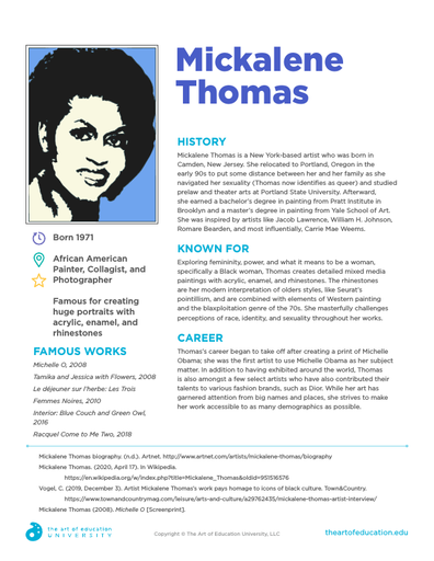 Mickalene Thomas - FLEX Resource