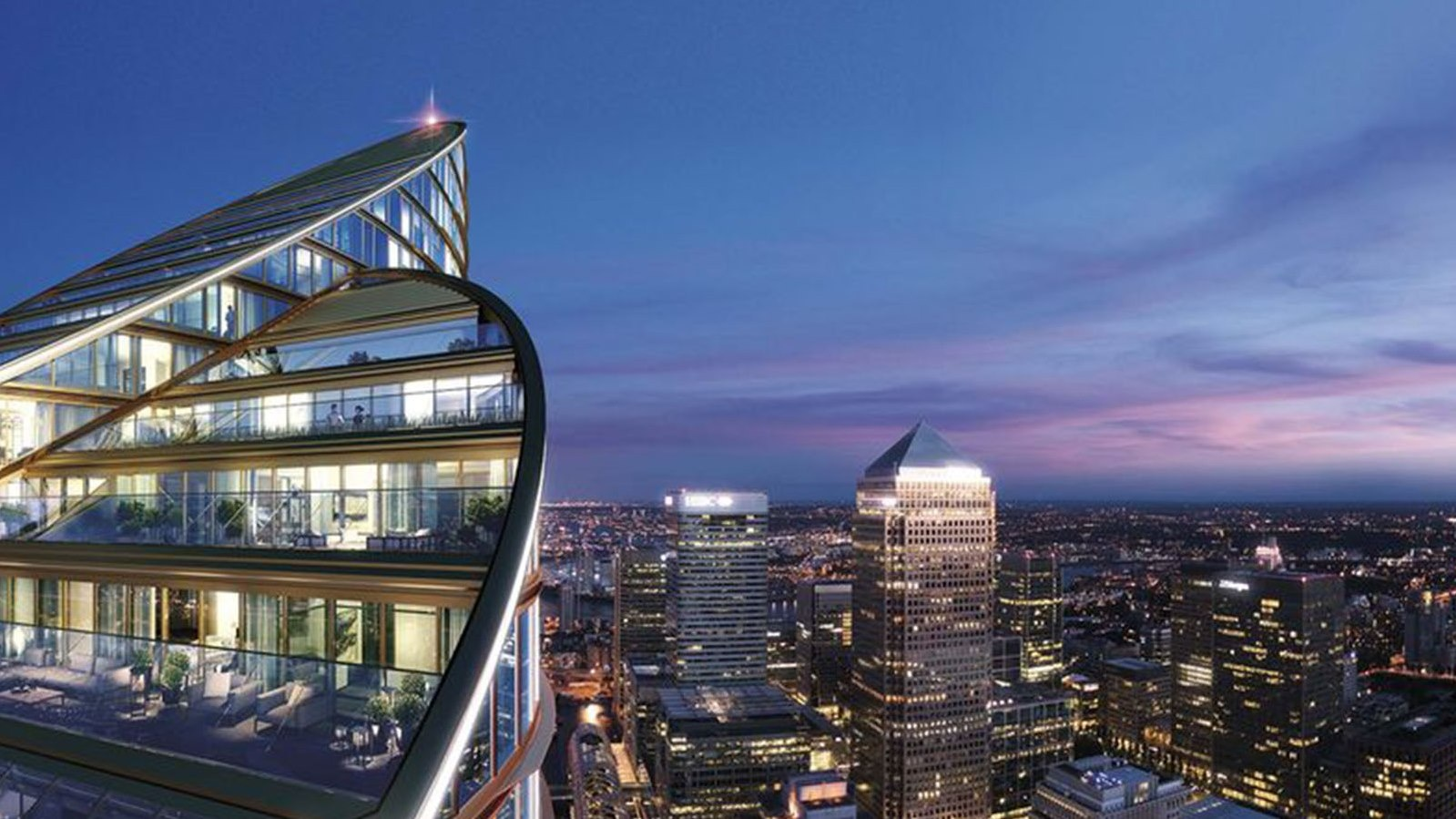 Europe's tallest residential skyscraper comes to London