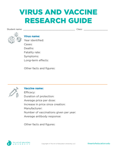 Virus and Vaccine Research Guide - FLEX Assessment