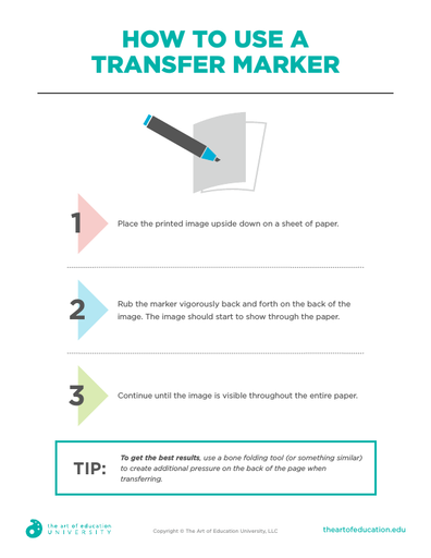 How To Use A Transfer Marker - FLEX Resource