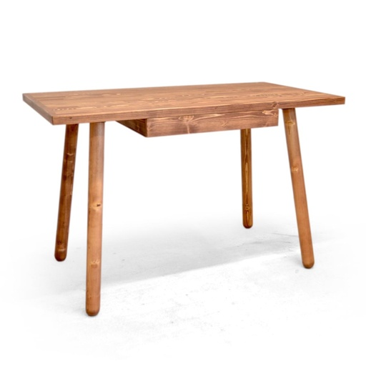 Desk with drawer nuotrauka