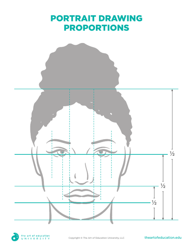 Portrait Drawing Proportions - FLEX Assessment