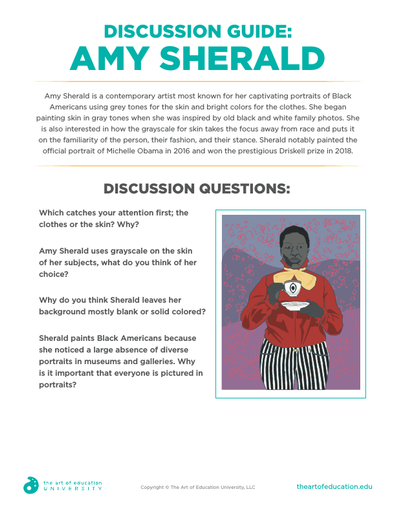 Discussion Guide Amy Sherald - FLEX Assessment