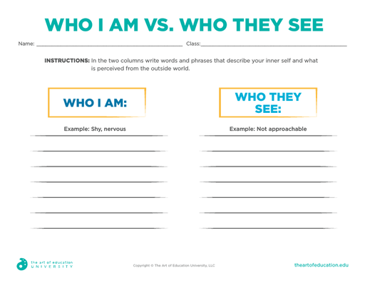 Who I Am vs. Who They See - FLEX Assessment