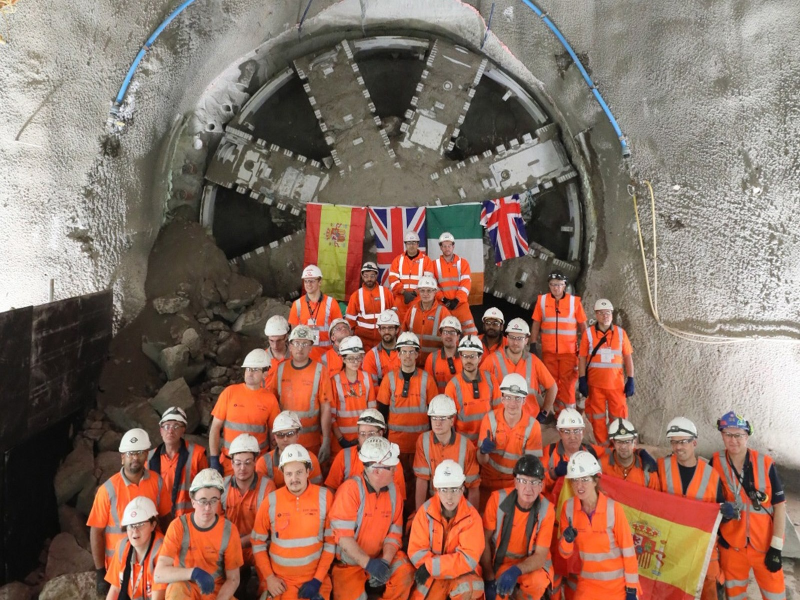 Main tunneling completed for Battersea Tube Station
