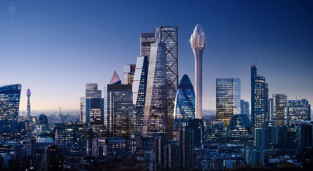 Norman Foster's 'The Tulip' could bloom in central London