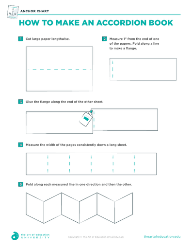 How to Make an Accordion Book - FLEX Assessment