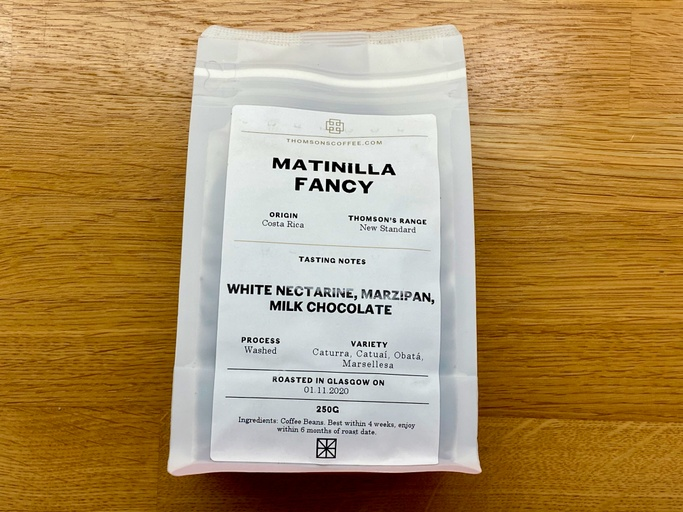 Matinilla Fancy by Thomsons Coffee