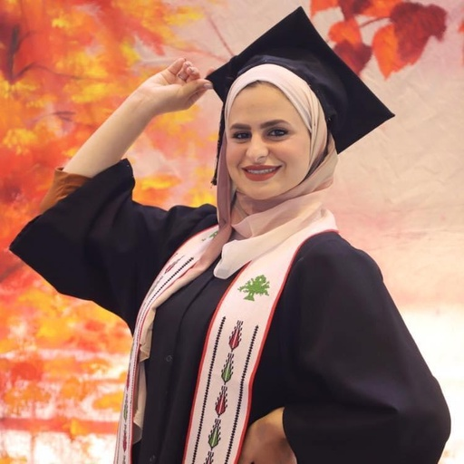 Photo of Israa Musaffer, Administrative Assistant, Ramallah, West Bank
