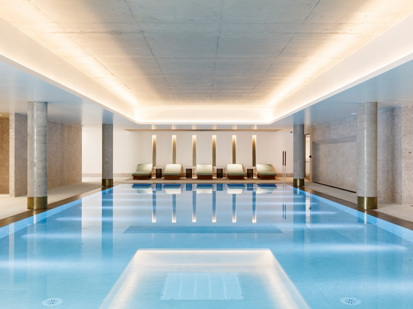 The health club and the gym now open in Battersea