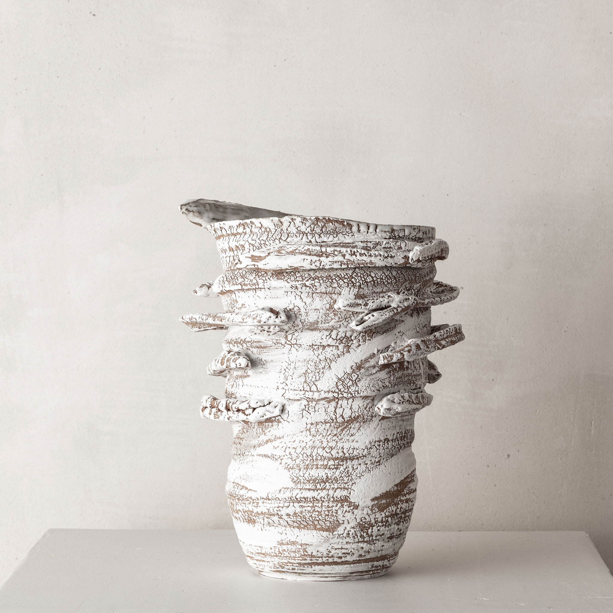 CHTHONIC VESSEL 01Peter Speliopoulos, Peter Speliopoulos Ceramics, Peter Speliopoulos Artist, Peter Speliopoulos Fashion Designer, Contemporary Ceramics, Contemporary Greek Ceramics, Interior Design Accessories.