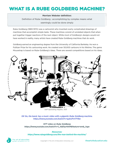 What is a Rube Goldberg Machine - FLEX Assessment